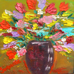 Spring flowers 3 painting