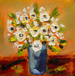 Spring flowers 4 painting